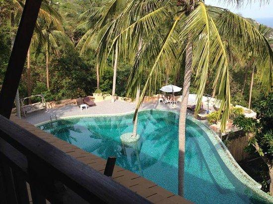 Tanote Villa Hill : Et aussi vue sur la piscine de gauche