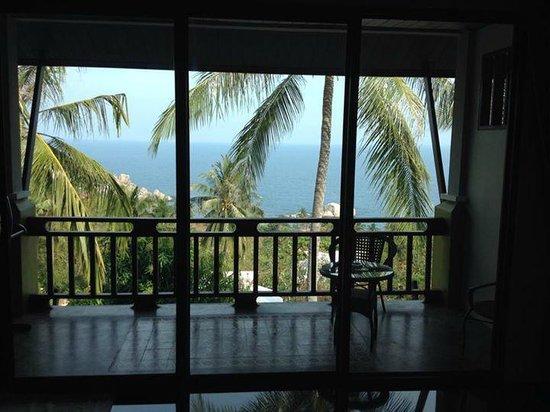 Tanote Villa Hill: Magnifique vue sur la mer de la chambre