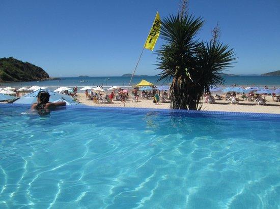 Chez Pitu Praia Hotel: pileta!