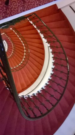 Hotel Wandl: stair case