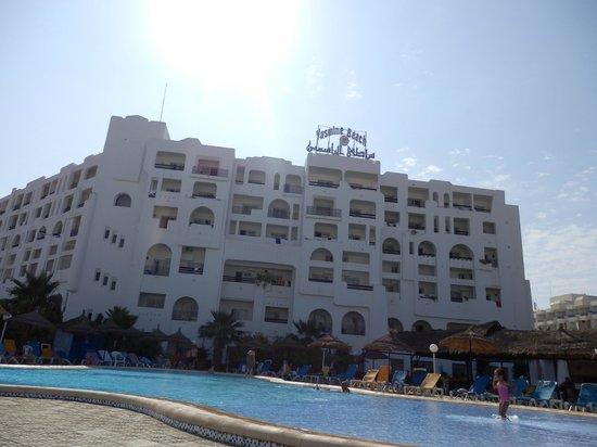 Yasmine Beach Resort: Facade de l'Hotel