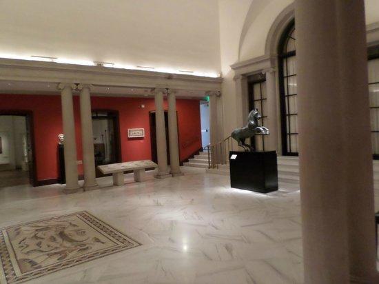 Dumbarton Oaks : Hall de entrada do museu