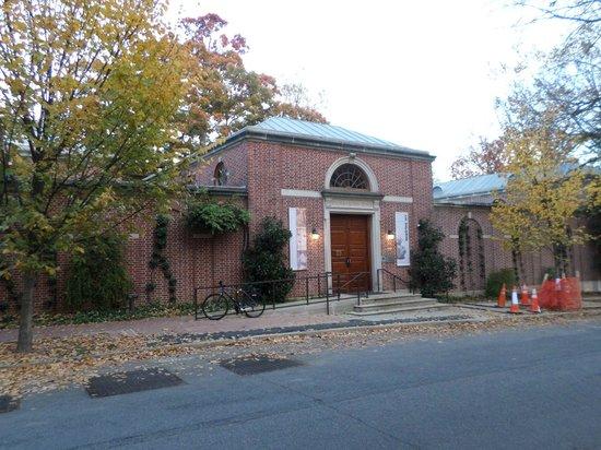Dumbarton Oaks : Entrada do museu