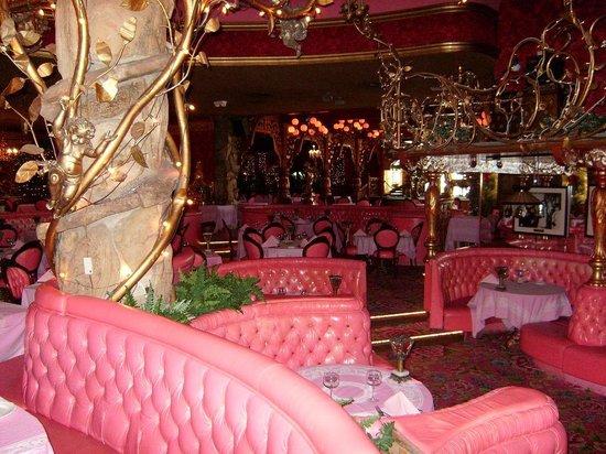 Madonna Inn : The Bar area