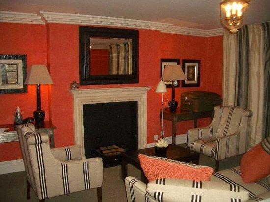 Charlotte Street Hotel: Lounge da suíte