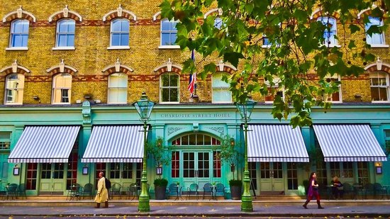 Charlotte Street Hotel: fachada do hotel