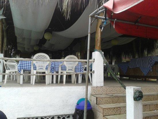 Maribu Caribe Hotel: Restaurante de la piscina