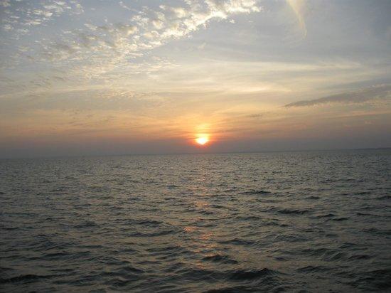 Kumarakom Lake Resort: sunset