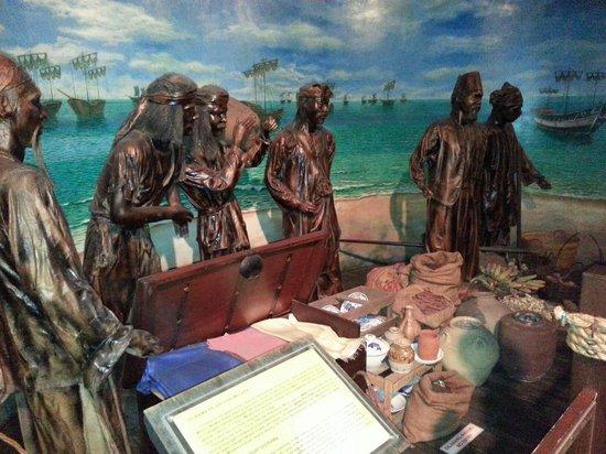 Flora de la Mar Maritime Museum: A replica of merchants and products