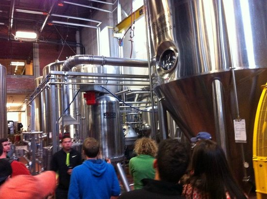 Saint Arnold Brewing Company : On the tour