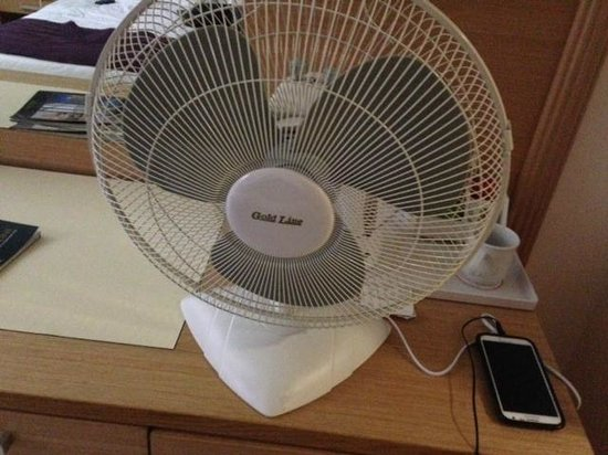 Leonardo Royal Resort Hotel Eilat: The Fan they offered me instead of A/C