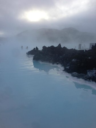 Blue Lagoon: Lagoon in the fog