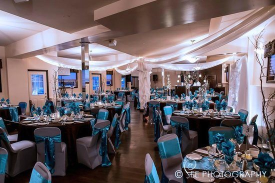 The Falls Inn & Spa: Hall decorated for Wedding