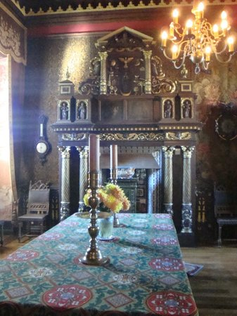 Chateau de Cormatin: SALLE 1900