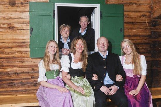 Gasthof Hagstein: wirtsfamilie