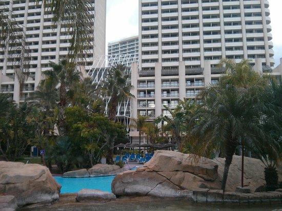 Melia Benidorm: Habitación desde el jardín