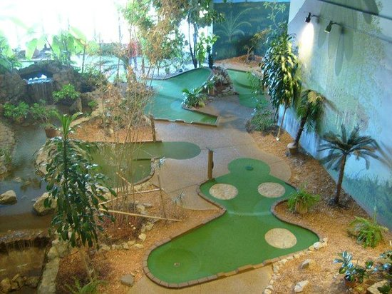 Car Rental Evansville In: Indoor Miniature Golf Course