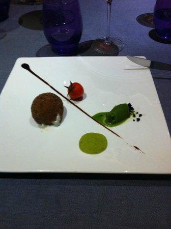 la cape : SAINTE MAURE DE TOURAINE comme une salade de chèvre chaud (au presque)