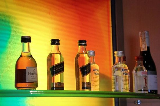Makati Shangri-La Manila: Mini Bar