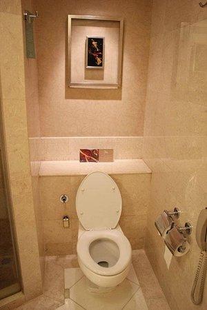 Makati Shangri-La Manila: Water Closet in the Bathroom