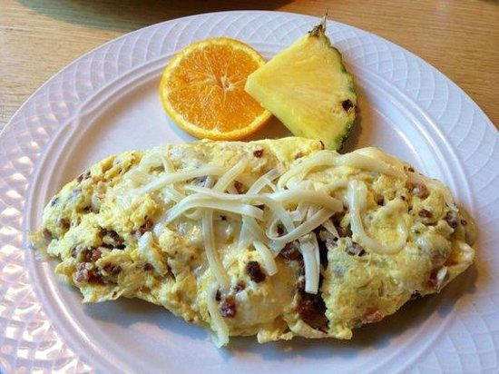 Swiss Scramble Picture Of Oak Table Cafe Silverdale TripAdvisor - Oak table restaurant silverdale