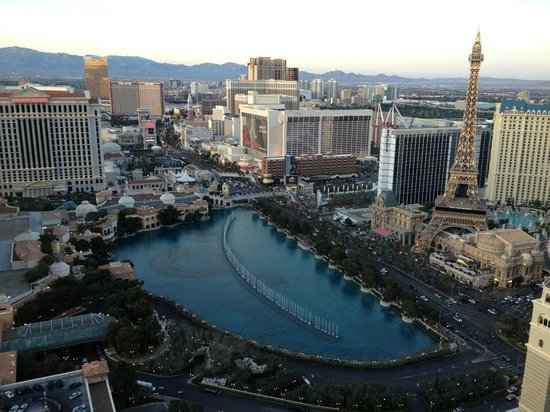 The Cosmopolitan Casino: View from the room's balcony
