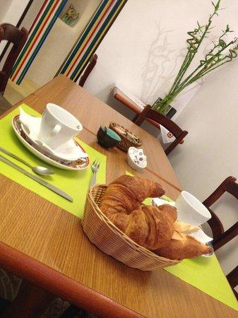Hotel Le Flore: Salle à manger