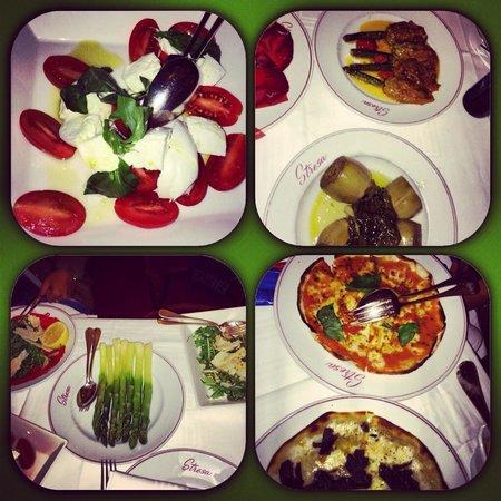 Le Stresa : food