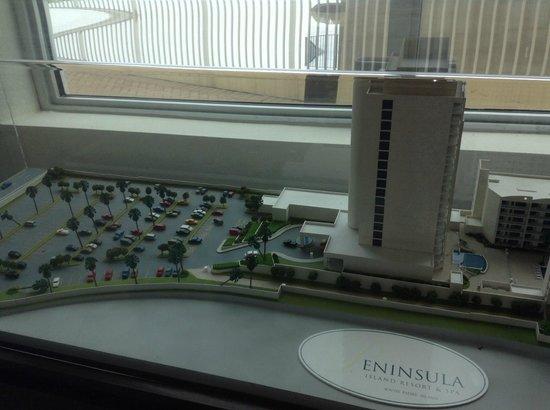 Peninsula Island Resort & Spa: model