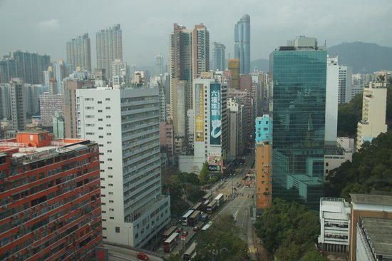 Eaton, Hong Kong: View from our room