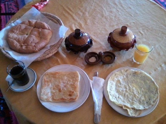 Auberge La Source: Breakfast