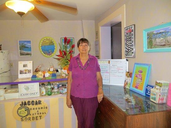 Jaccar: Former Owner Carole in shop