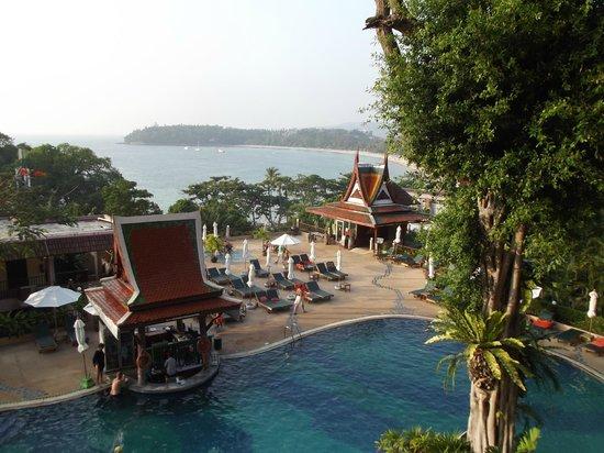 Chanalai Garden Resort: Udsigten fra værelsenr: 6305
