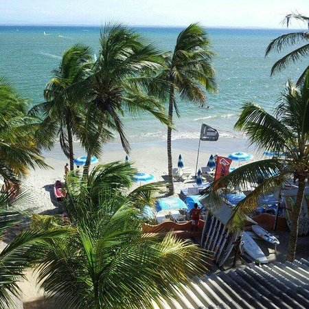 Hotel Surf Paradise: Vista da praia