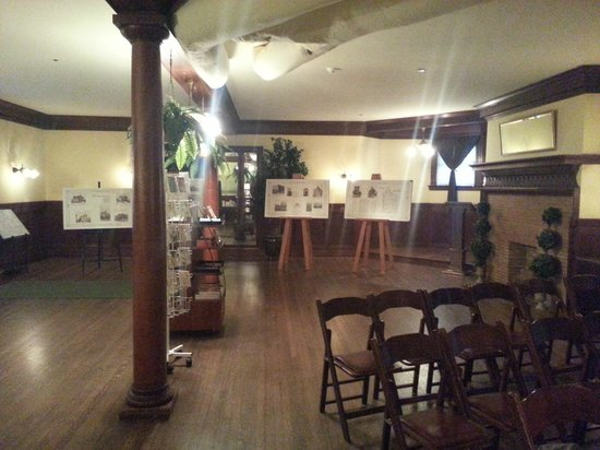 Haas - Lilienthal House: Basement Ballroom and Tour Reception Area