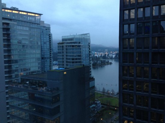 Coast Coal Harbour Hotel by APA: View North from 20th floor