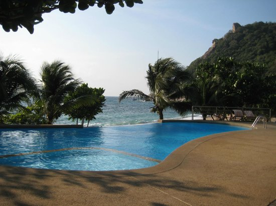 Montalay Beach Resort: the pool area