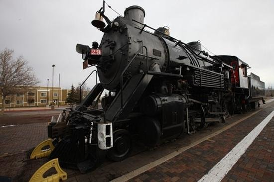 old Steam Engine at Grand Canyon Railway