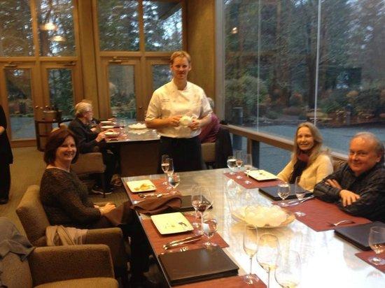 J Vineyards & Winery: Executive Chef Erik Johnson