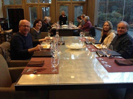J Vineyards & Winery: Enjoying a 2hr+ lunch