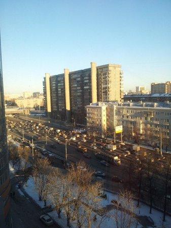 Renaissance Moscow Monarch Centre Hotel : вид из окна