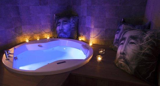 Hotel Les Cimes : spa balnéo