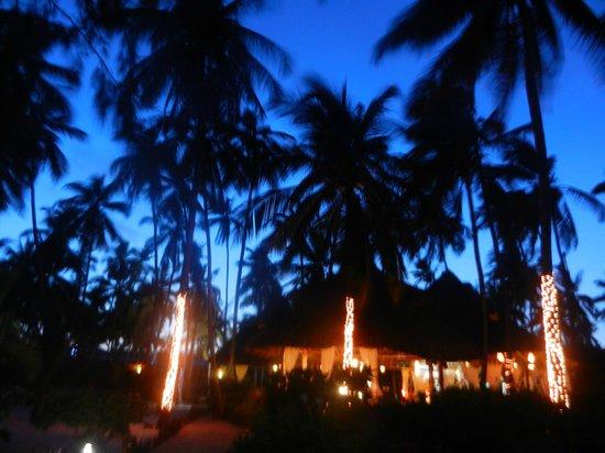 Next Paradise Boutique Resort: VOR DEM ABENDESSEN...