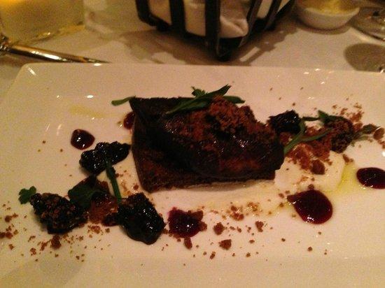 Sweet Basil : Foie Gras