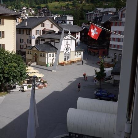 Thermalhotels & Walliser Alpentherme Leukerbad: 'our' room's view