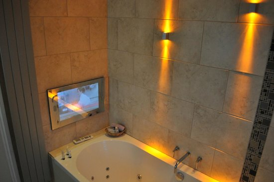 Bathroom TV Picture of Regis Bed and Breakfast Wantage – Tv in the Bathroom