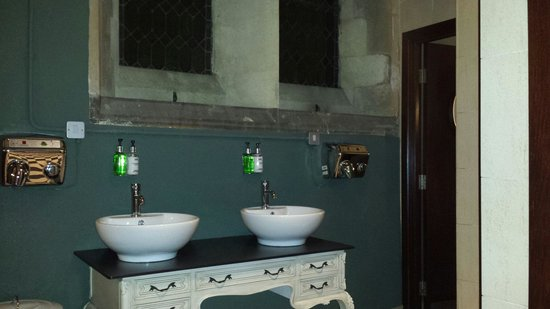 Pitcher & Piano - Nottingham: Banheiro femino. Todo fofo!