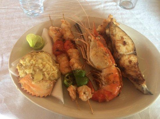 Chez Alain : Seafood mixed