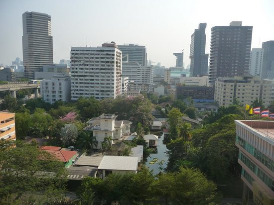 Evergreen Place Bangkok: beautiful view from the balcony