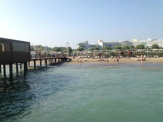 Cornelia Diamond Golf Resort & Spa: Beach